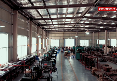 Escape opens new manufacturing facility in Asia for absolute quality control in its free weight production