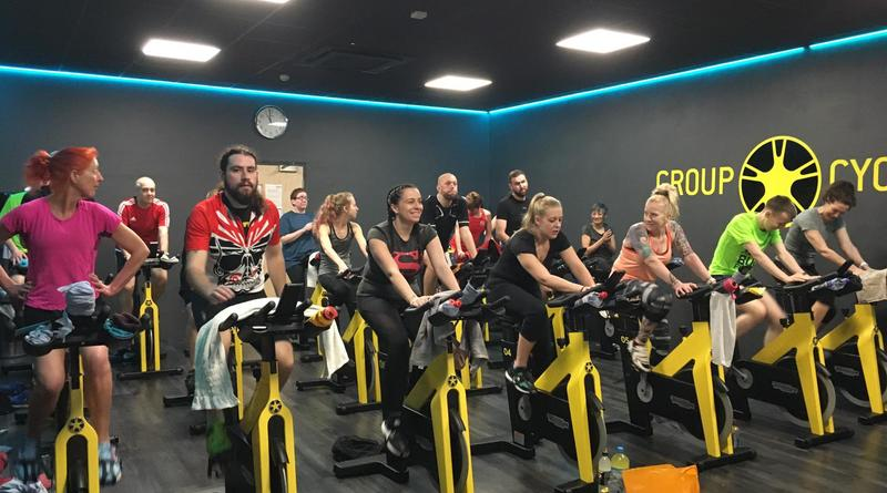 Kingswood pedal through eight-hour challenge to raise £10,000 for charity