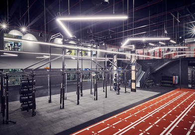 EXF supports Third Space to create London's largest functional training rig at The Yard