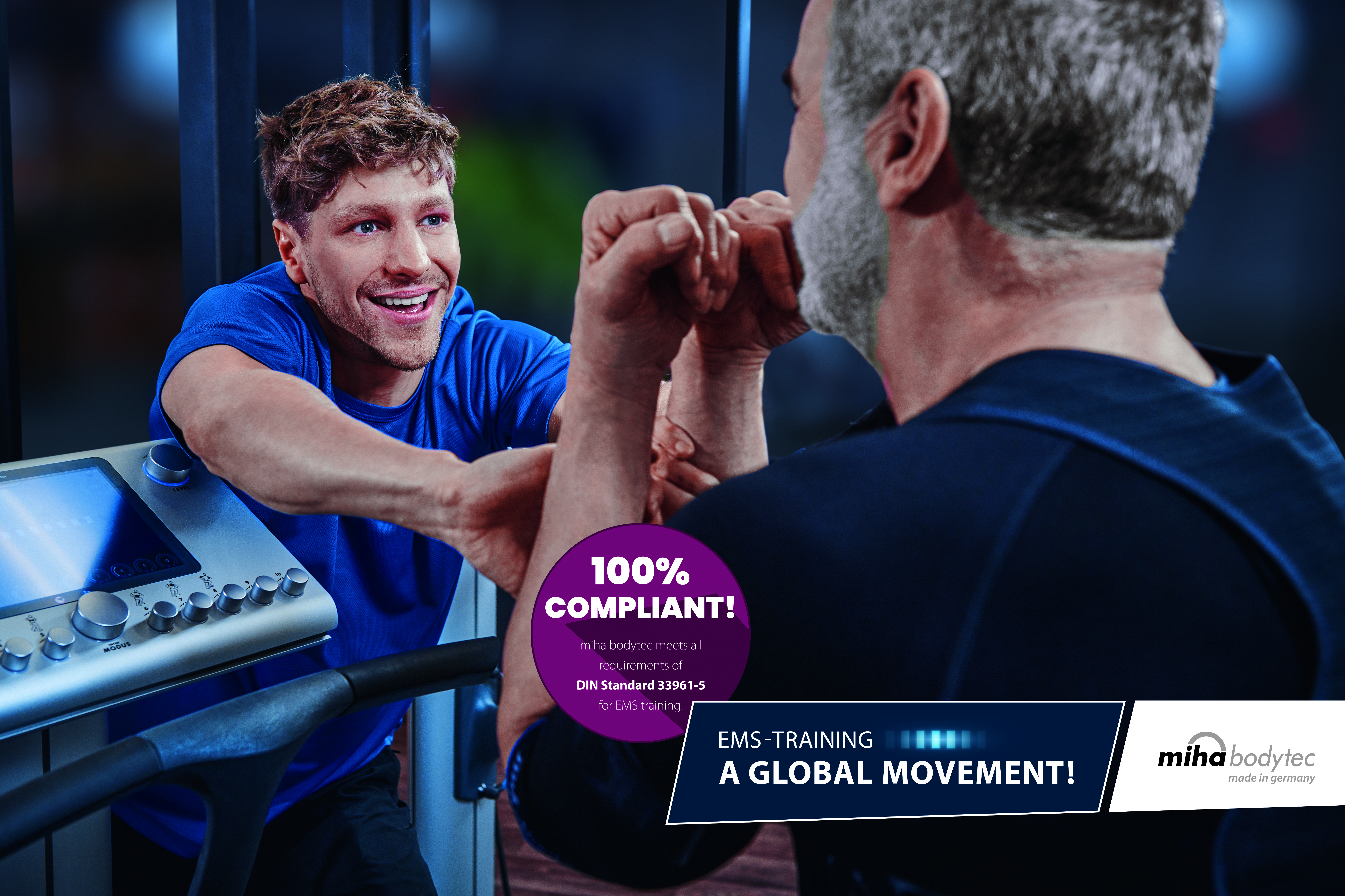 miha bodytec – the whole-body Electro Muscular Stimulation (WB-EMS) training system set to shake up the industry